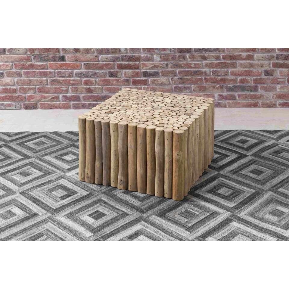 Salontafel Ortiga - naturel - 40x60x60 cm