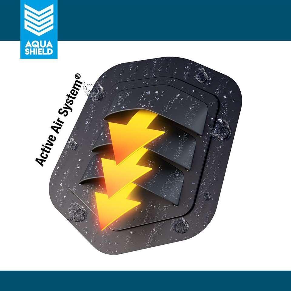 AquaShield housse pour parasol - h240x68 cm