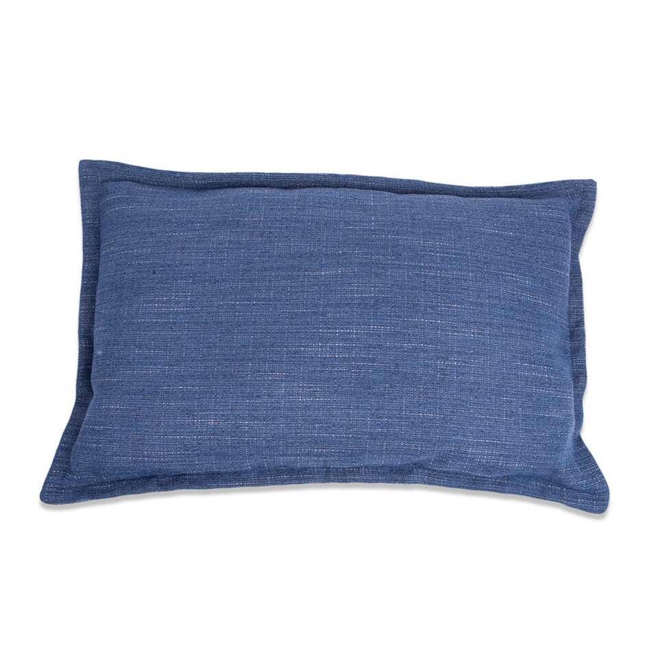 Kussen Salvador - blauw - 35x55 cm