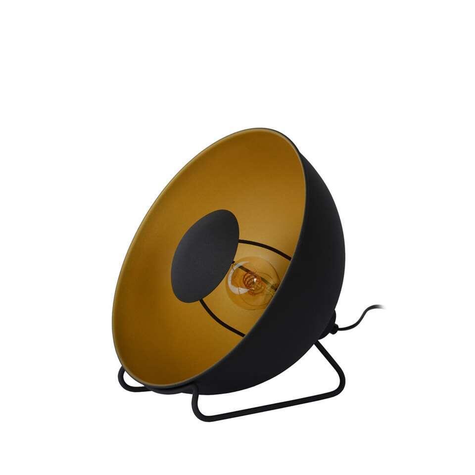 Lucide lampe de table Alvaro - noire - 31 cm