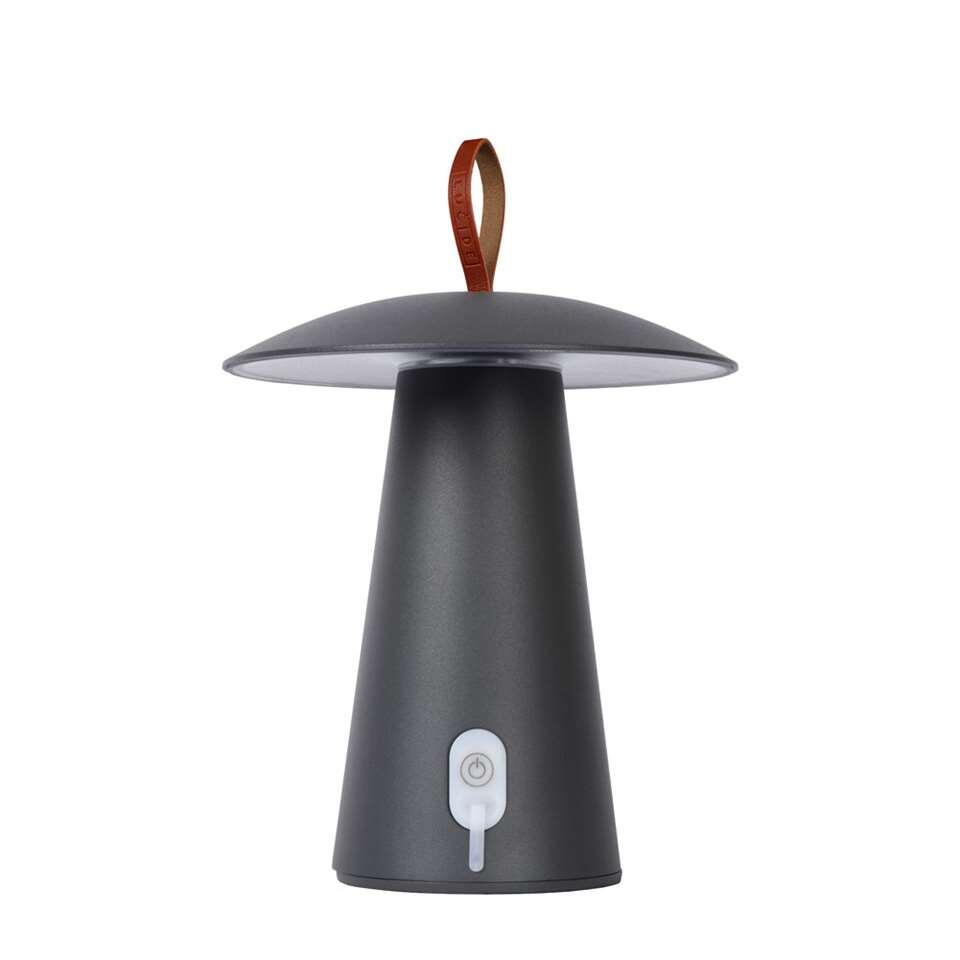 Lucide lampe de table La Donna - couleur anthracite