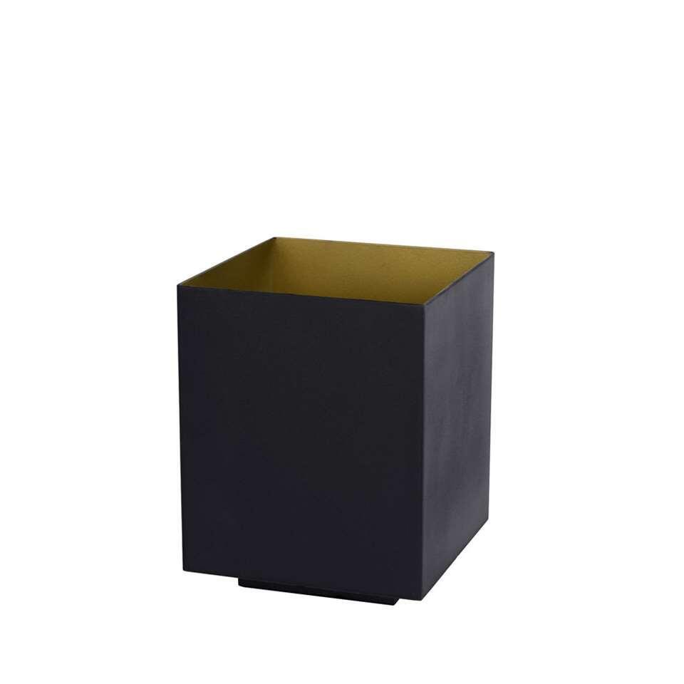 Lucide lampe de table Suzy - noire - 12x12 cm