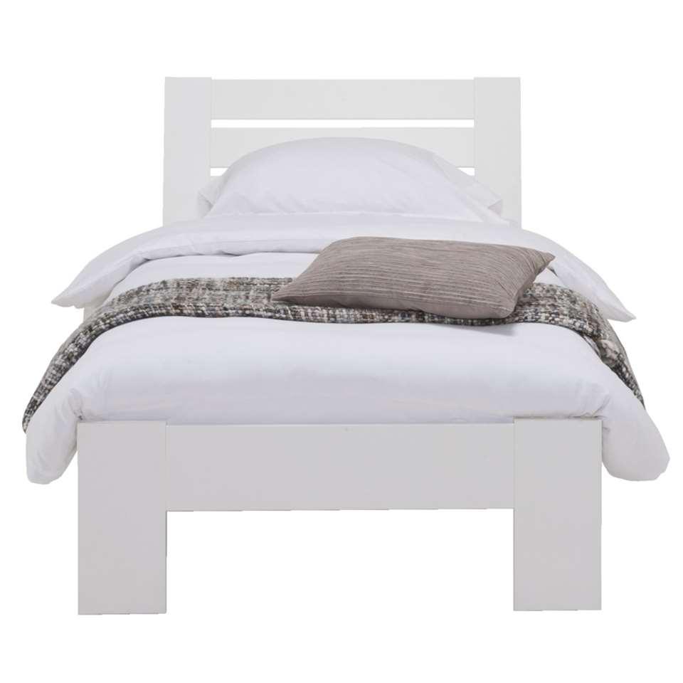 Bed Sydney 3 latten - wit - 90x200 cm