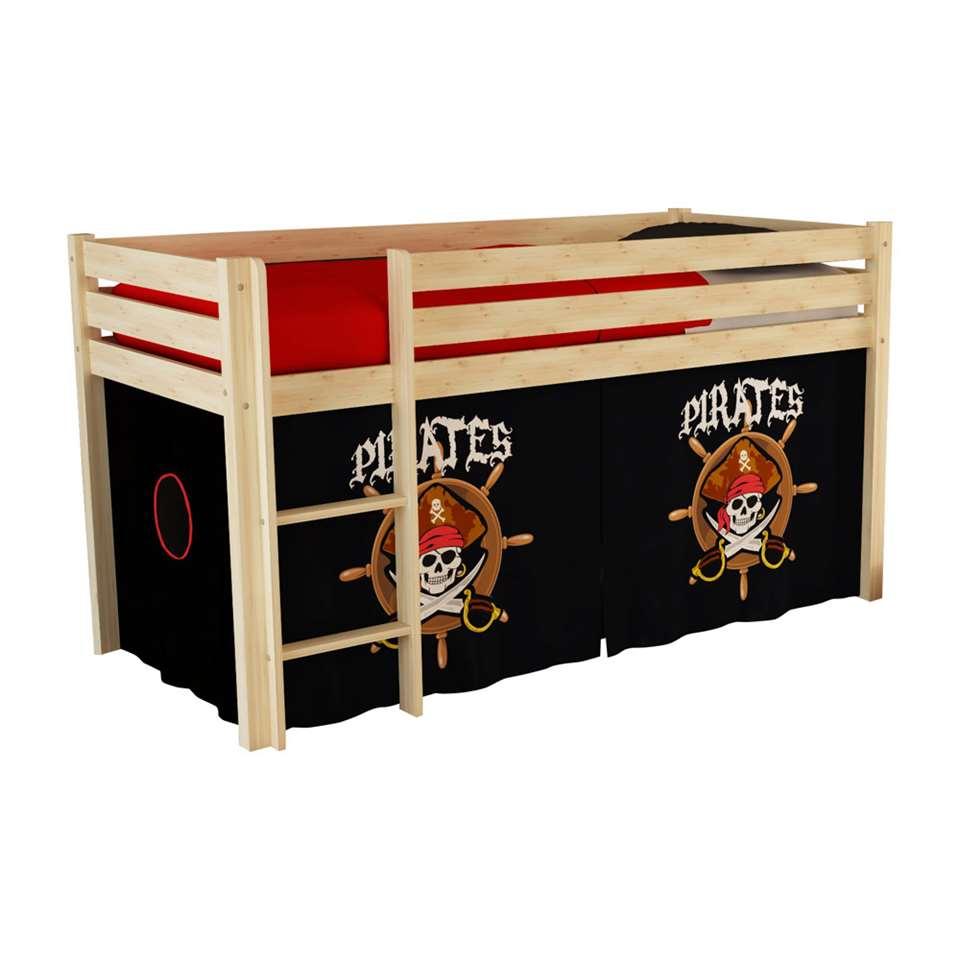 vipack lit sur lev pino avec ensemble pirates pin. Black Bedroom Furniture Sets. Home Design Ideas