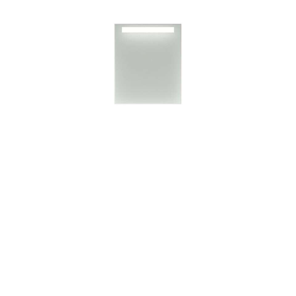 bruynzeel ensemble de meubles de salle de bains luca avec colonne blanc 50 cm