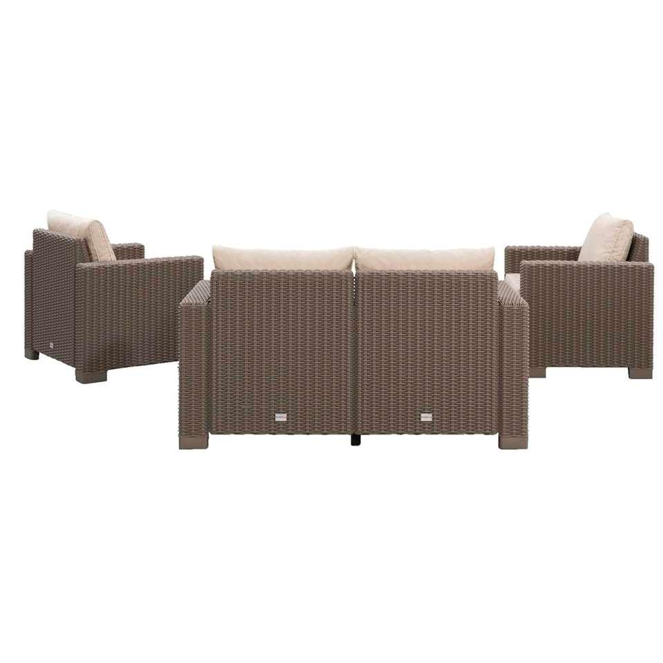 Allibert salon lounge California avec canapé 2 places - 4 pièces