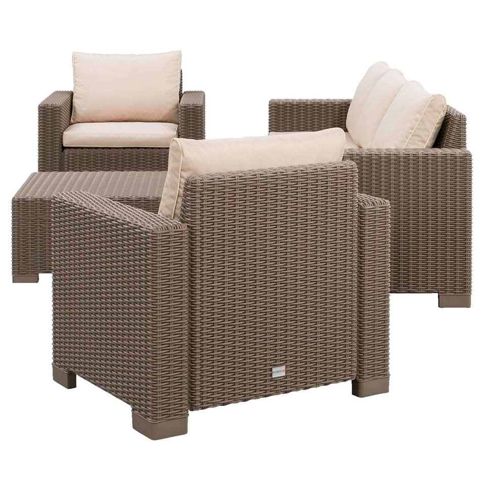 Allibert salon lounge California avec canapé 3 places - 4 pièces